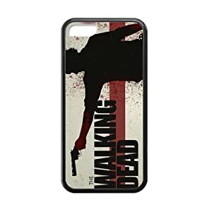 CASECOCO(TM) The Walking Dead Plastic PC Case Cover Skin For iphone 5C