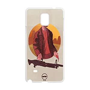 Breaking Bad Heisenber Illustration Samsung Galaxy Note 4 Cell Phone Case White DIY Gift xxy002_5100129