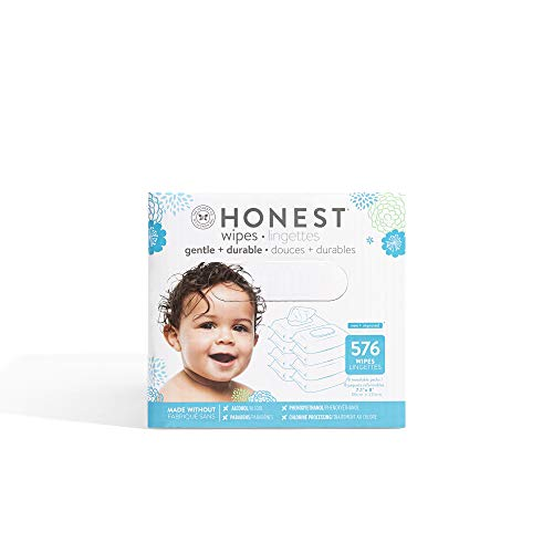 The Honest Company Honest Baby Wipes, 576 Count