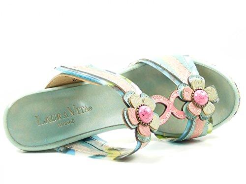 Laura Vita Sd328-83 Belfort 83 Scarpe Donna Sandali Muli Blu