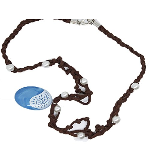 Xfang Natives Polynesian Princess Necklace Cosplay Prop Cosplay Accessories