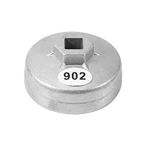 XMHF 902 Cap Oil Filter Wrench 1/2 Square Drive Oil Filter 67mm Inside Diameter 14 Flutes Wrench Spanner Hand Tool