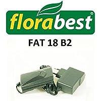 Chargeur Fat 18B2Ian 86154Lidl Flora Best Tondeuse à Gazon Débroussailleuse tondeuse–Câble de charge pour votre batterie Batterie de Lidl Flora Best–Voir la bonne Ian numéro de modèle