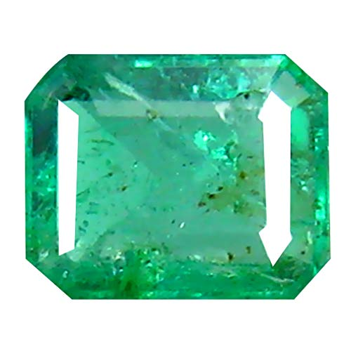 0.41 ct Octagon Cut (5 x 4 mm) Colombian Emerald Natural Loose Gemstone