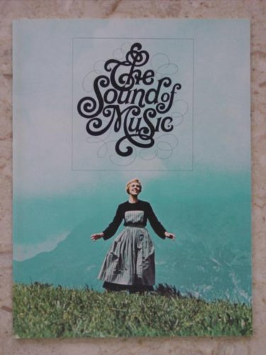 Original Sound of Music Movie Program 1965 -NOT A DVD- from Hollywood Show