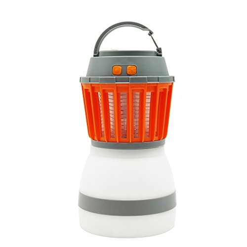 LEDMOMO LED Camping Lantern Outdoor Mosquito Killer Lamps Waterproof USB Rechargeable Tent Lights Emergency Light Travel Light for Hiking Camping by LEDMOMO