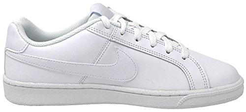 Nike Womens Court Royale Scarpa Casual Bianco Bianco Nero