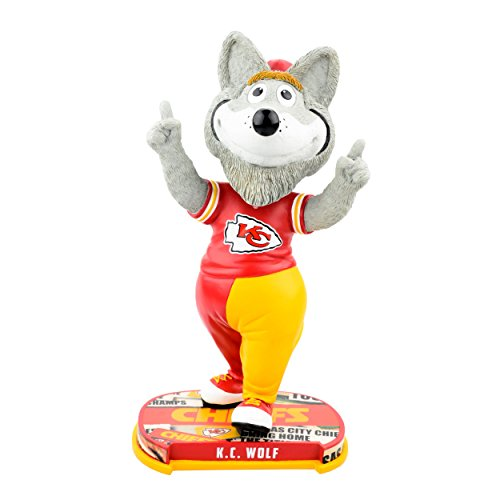 Forever Collectibles Kansas City Chiefs Mascot Kansas City Chiefs Headline Bobblehead NFL by Forever Collectibles