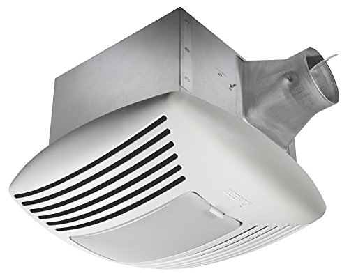 Delta Breez SIG110HL Signature 110 CFM Exhaust Fan/Light with Adjustable Humidity Sensor and Speed Control