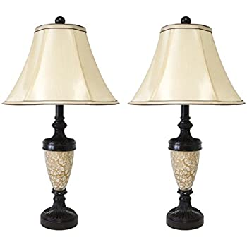 traditional table lamps for living room. Mestar Decor Classic 25  Traditional Table Lamps for Bedroom Living Room Gold Lampshade Ashley Furniture Signature Design Poly Lamp