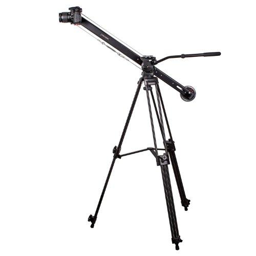 Varavon T1 - 3.3ft Motorized Tripod Head Video Camera Tilt Crane Mini Jib by Varavon