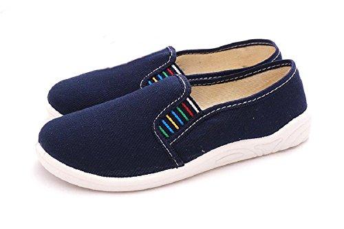 Zetpol - Zapatillas de estar por casa para niño azul - azul oscuro