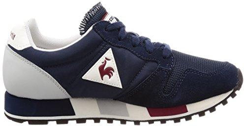 Le Coq Sportif Herenjurk Blauw Omega Nylon Sneakers