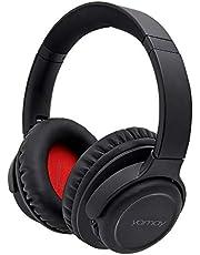 YAMAY Bluetooth Kopfhörer Over Ear,Kopfhörer Kabellos Bluetooth Headset HiFi Stereo Wireless Kopfhörer mit Mikrofon Freisprechen 20 Stunden Spielzeit Tiefer Bass,Mikrofon Freisprechen für Handy PC