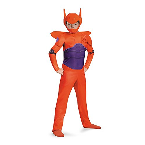 Baymax Costume (Red Baymax Classic Costume, Small (4-6))