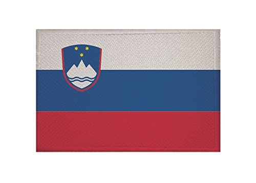 U24 toppa Slovenia Bandiera applicazione Patch 9 x 6 cm Universalhandel24.de