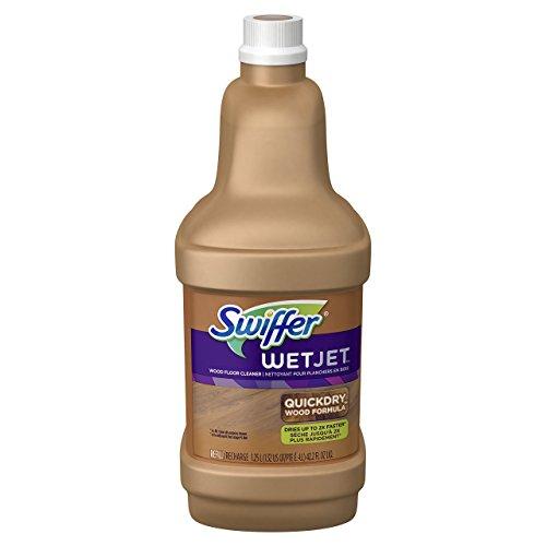 - Procter & Gamble 23682 Swiffer WetJet Wood Floor Cleaner 1.25L