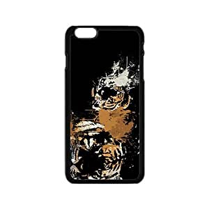 Spray paint Tiger Hight Quality Plastic Case for Iphone 6 wangjiang maoyi