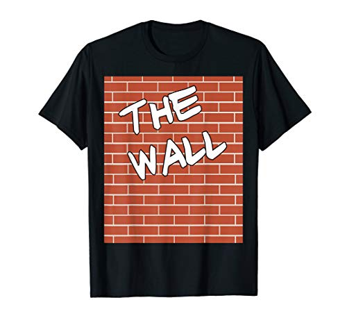 The Wall Costume - Funny Halloween Brick Wall Costume