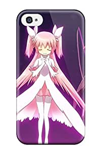 akemi homura kyubey Anime Pop Culture Hard Plastic iPhone 4/4s cases