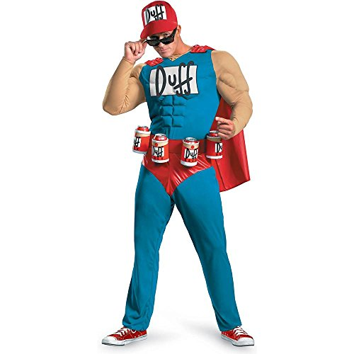 Disguise Unisex Classic Muscle Duffman