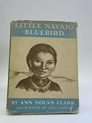 book cover of Little Navajo Blue