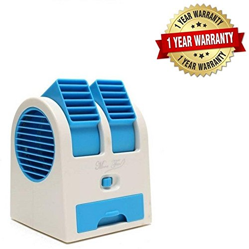 Mini Fan Portable Dual Bladeless Small Air Conditioner