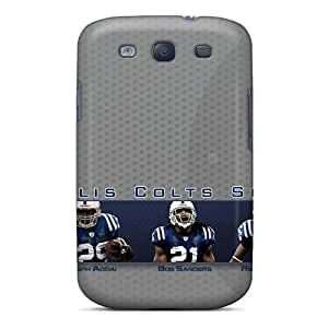 TimeaJoyce Samsung Galaxy S3 High Quality Hard Phone Case Unique Design High Resolution Indianapolis Colts Skin [KeH20079SIGW]