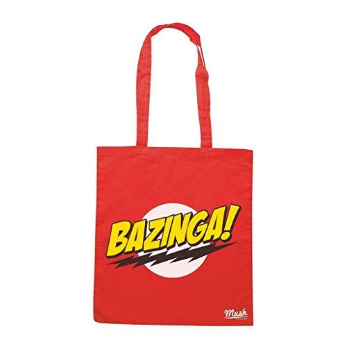 Borsa Bazinga Big Bang Theory - Rossa - Film by Mush Dress Your Style