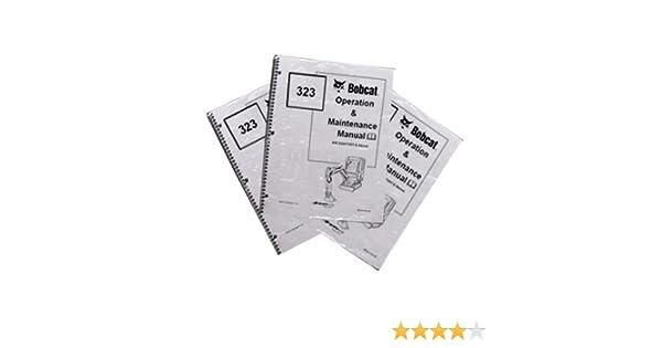 Bobcat T550 Track Loader Operation /& Maintenance Manual Part Number # 6989678