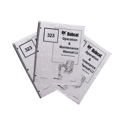 Bobcat E26 Compact Excavator Operation & Maintenance Manual - Part Number # 6990096 - Excavator Parts Book