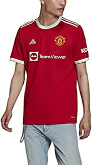 adidas Men's 2021-22 Manchester United Home Je