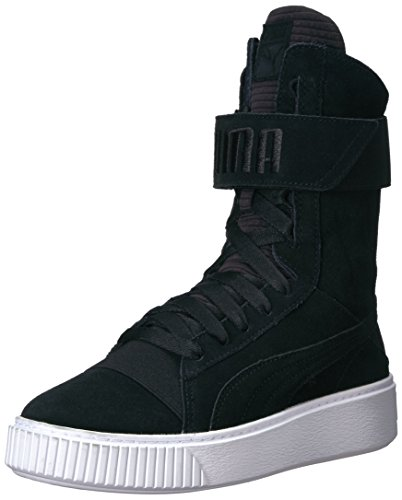 PUMA Women's Platform Boot Quil Wn, Black Black, 8.5 M US Review