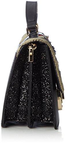 Handle Black Aldo Top Cavaion Bag Black Multi Womens XOUUxAgqtw