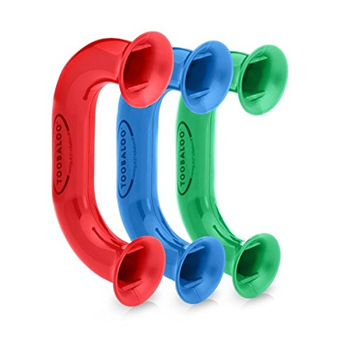 ((3 Pack - Assorted Colors) Toobaloo Auditory Feedback Reading Phone)