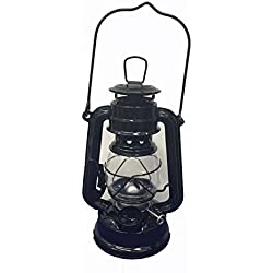 Shop4Omni Black Hanging Hurricane Lantern Wedding Light Table Centerpiece Lamp - 8 Inches (1)