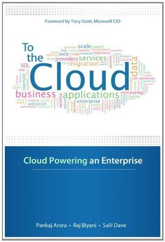 Download To the Cloud: Cloud Powering an Enterprise Pdf