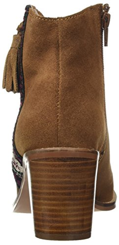 Joe Browns Women's Embroidered Suede Chelsea Boots Brown (Tan) 0iyeLA5di