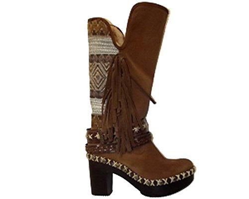 NEMONIC Women's Boots Brown 7Mz7Lxe8