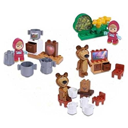 PlayBIG Bloxx Masha & The Bear Starter Set by Masha and the Bear