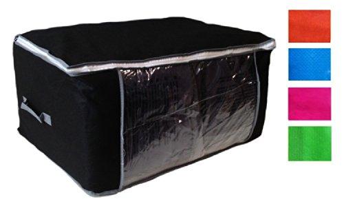 Gramos Primera 45 30 Cómoda Cierre Ropa Azul Calidad Bolsa 125 X Con La De 60 Cremallera Almacenamiento Debajo Cama FBq00Hw