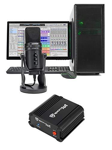 SAMSON G-Track Pro Studio USB Condenser Microphone Mic+Phantom Power - Quality Microphone Broadcast Podcaster Usb
