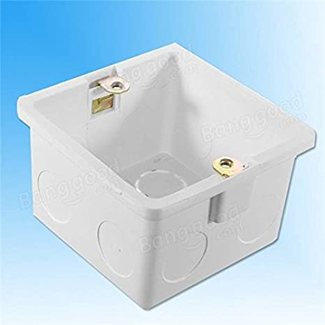 86x86mm Wall Plate Box Back Outlet Switch Cassette