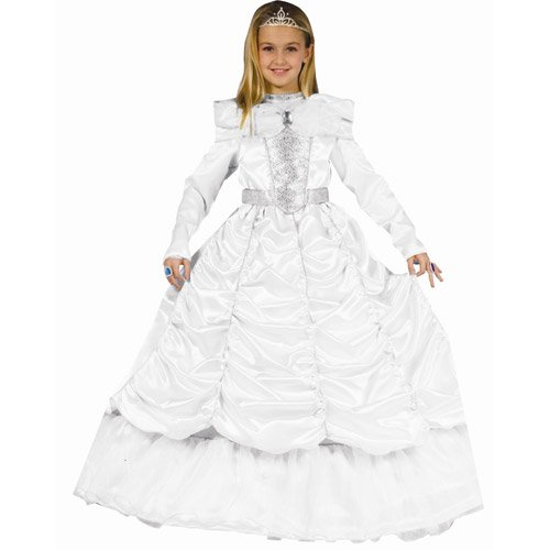 Luxurious White Cinderella - Medium -