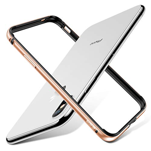 iPhone-X-Bumper-Case-ESR-Metal-iPhone-Frame-Armor-with-Soft-Inner-BumperNo-Signal-BlockingRaised-Edge-Protection-for-iPhone-X