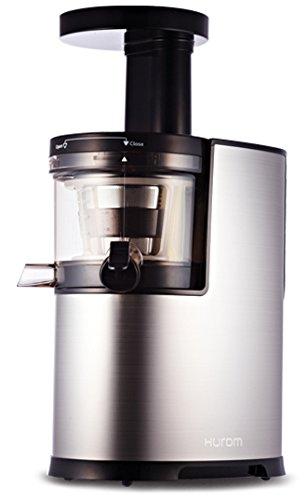 Hurom HF-SBC06 - Exprimidor (Exprimidor lenta, Plata, 80 RPM, 0