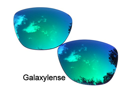 Galaxy Replacement Lenses for Oakley Frogskins Green Color - Frogskin Lens Oakley
