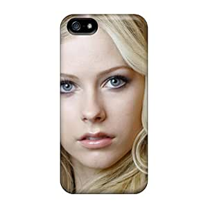 ChrismaWhilten Yjm3984jkYL Cases Covers Iphone 5/5s Protective Cases Avril Lavigne
