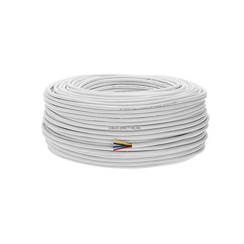 500ft 16AWG 4 Conductors (16/4) CL2 Rated Loud Speaker Cable Wire, Pull Box (For In-Wall Installation) (16AWG / 4 Conductors, 500ft) by Cables Direct Online (Image #2)