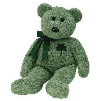 (Ty Beanie Buddy Shamrock - Bear)